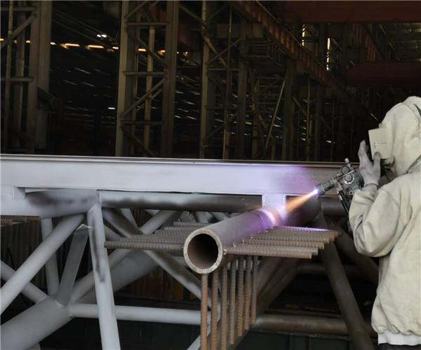 山东型钢热喷铝喷锌公司
