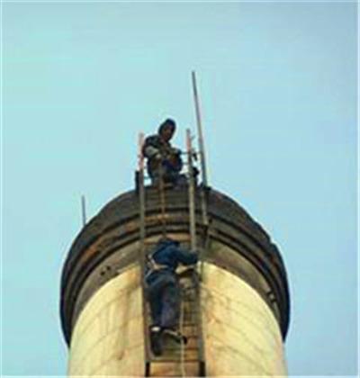 山南砖烟囱维护维修
