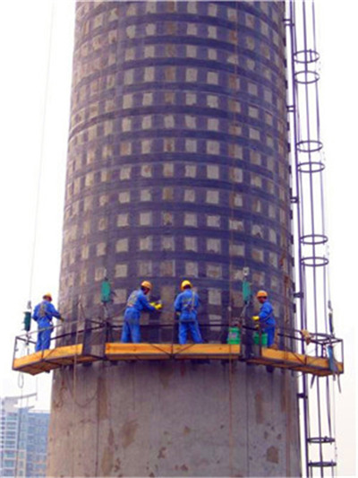 桂林砖烟筒加固维修公司
