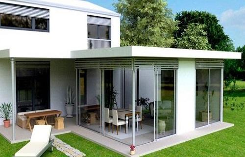 常州铝合金框架玻璃幕墙厂家直销安装厨房间移门