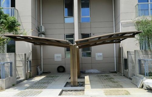 常州阳光房定制露台搭建淋浴房移门