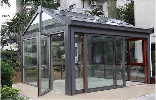 宿迁阳光房定制现场设计安装厨房间移门