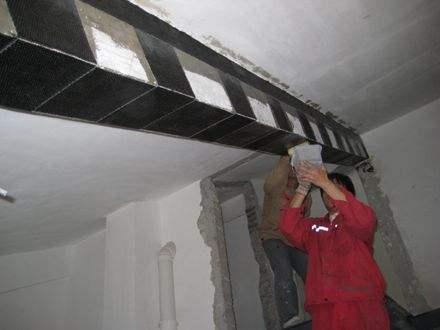 内江房屋加固,碳纤维板