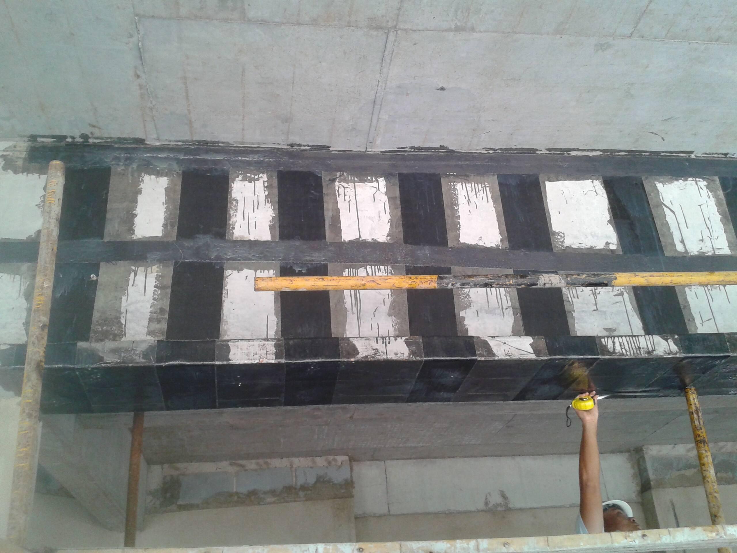 廊坊柱子加固:碳纤维板