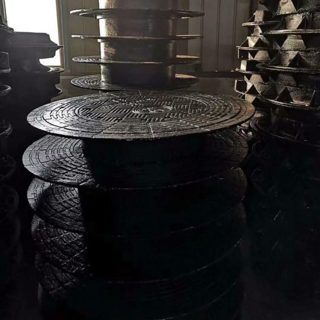 临沂防盗球墨铸铁篦子隐形井盖重型供应厂家