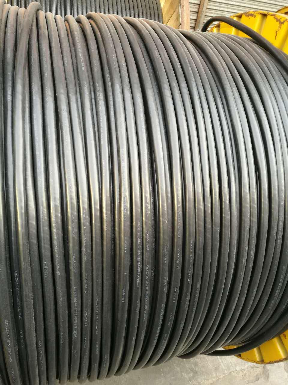 山东省东营市河口区废旧防火电缆回收二手变压器回收电缆回收单位--称重