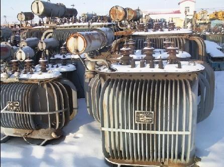 山东省临沂市沂南县废旧船用电缆回收公司废旧变压器回收--现场结算