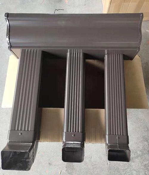 河南洛阳别墅成品雨水槽规格形状可选
