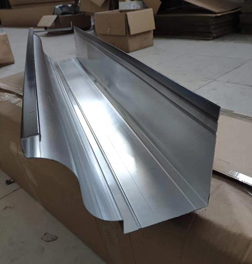 天津金属成品檐沟规格形状可选