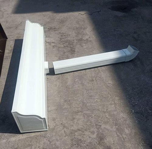洛阳彩铝成品天沟每条3米长