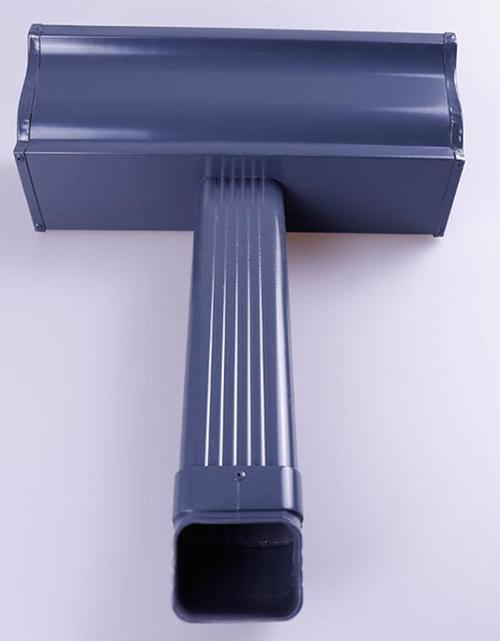 宁德铝合金天沟雨水槽规格形状可选