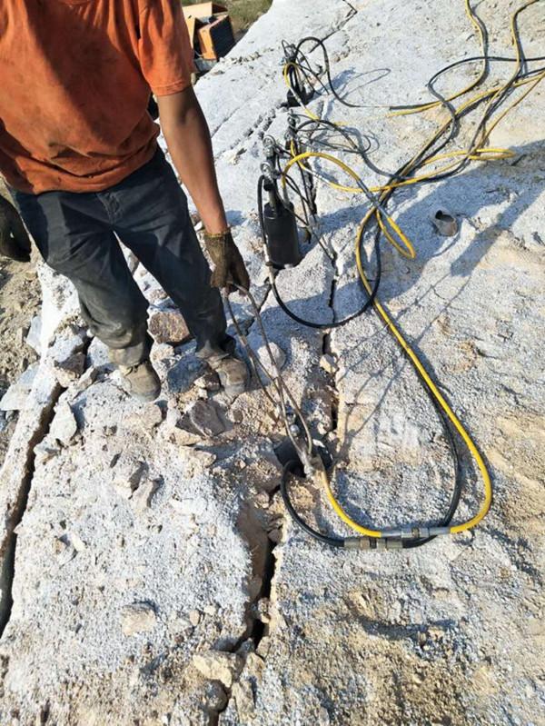 山东省东营市什么机器可以快速破开硬石头