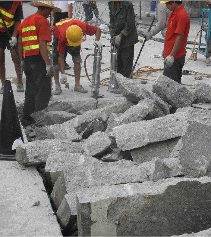 湖南省长沙市隧道掘进破石设备液压分裂机生产厂家