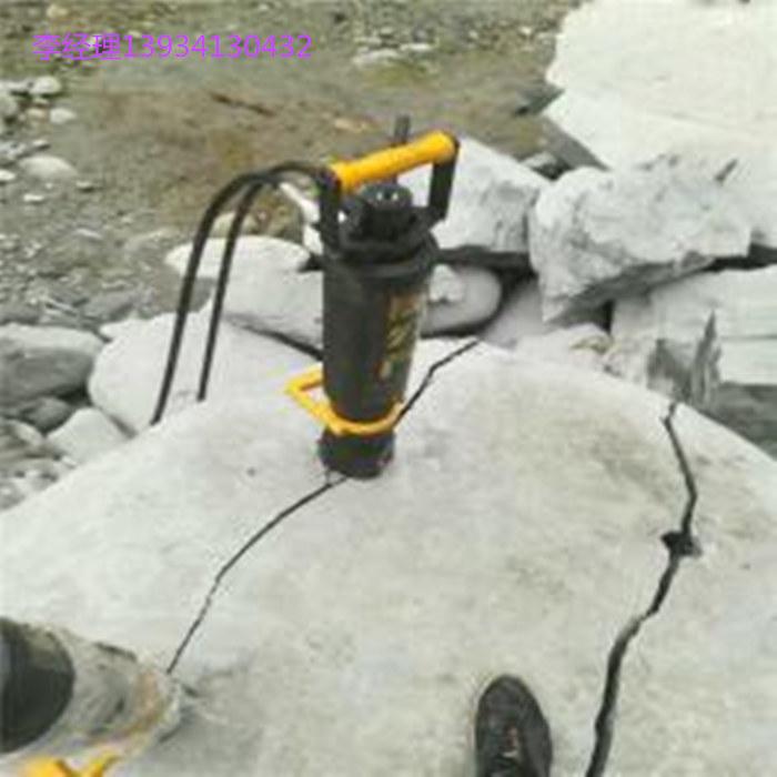 湖南省长沙市破碎石头致裂器液压劈裂棒开采神器厂家