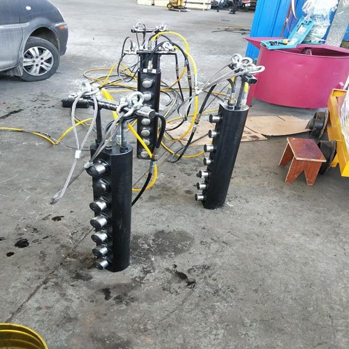 湖南省长沙市快速开采开采液压劈裂棒劈裂机产量高