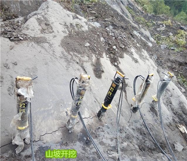 矿山煤矿洞采静态防爆设备裂石机江西省