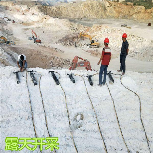 江西省大山开采用连接挖掘机劈裂机产量高