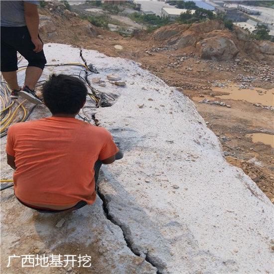 江西省矿井涵洞掘进分裂机无噪音