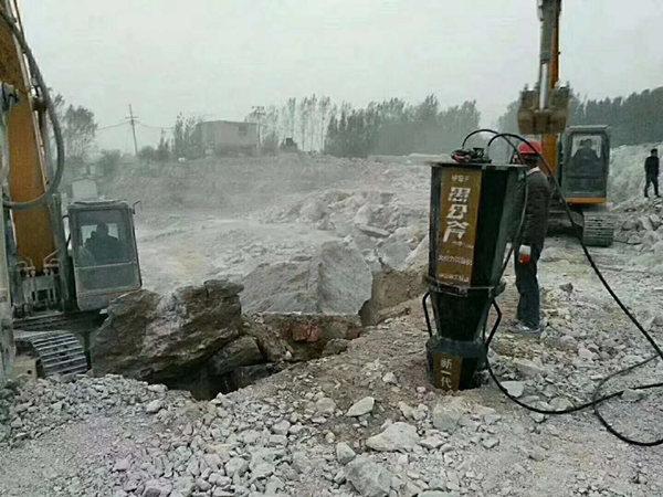西藏开山采石设备开石机开山机
