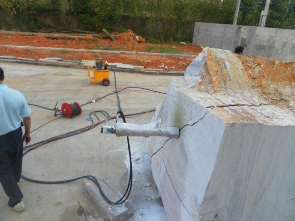 江西采石机械就选液压分石棒L