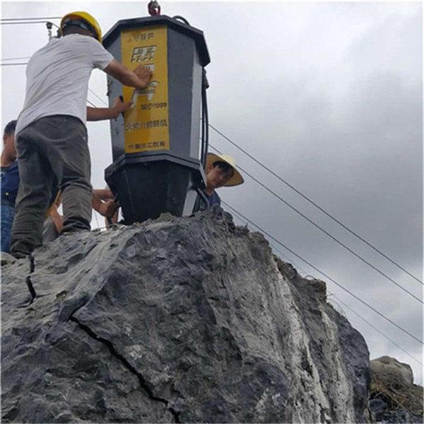 西藏省现在不让暴破开山用什么设备产量高开山视频