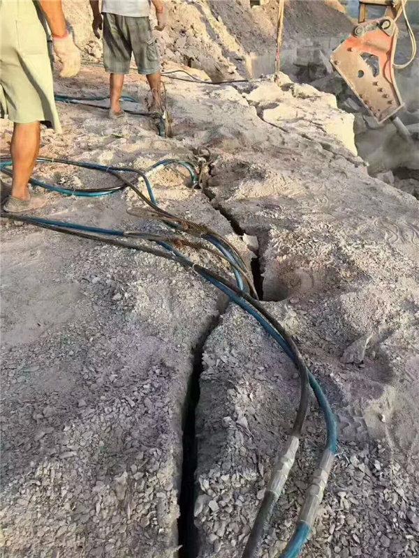山东省东营市环保液压分裂机劈裂机厂家售后 完善服务