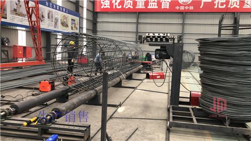 西藏钢筋笼绕丝机生机勃勃