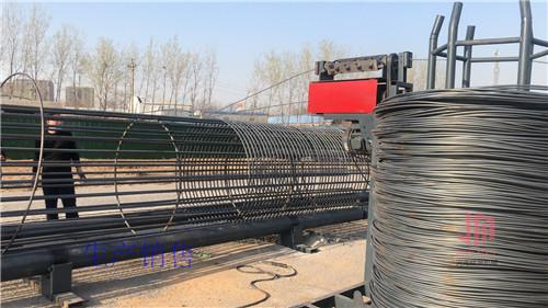 黑龙江智能钢筋笼滚焊机创新构件