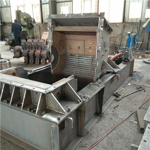长沙河卵石粉碎机1414型全自动液压开箱制砂机
