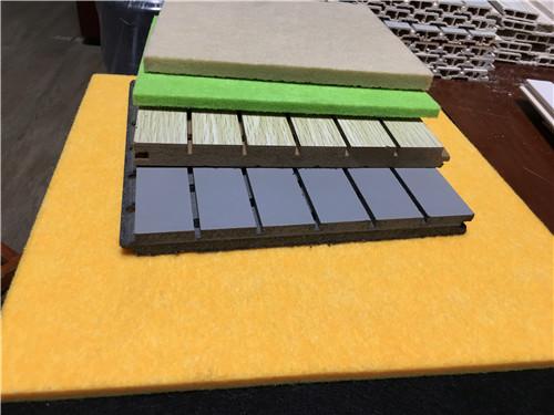 洛阳市洛龙聚酯纤维吸音板价格安装方式