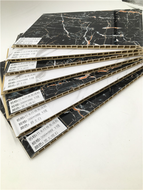 兰考县竹木纤维吸音板塑钢装饰板厂家批发