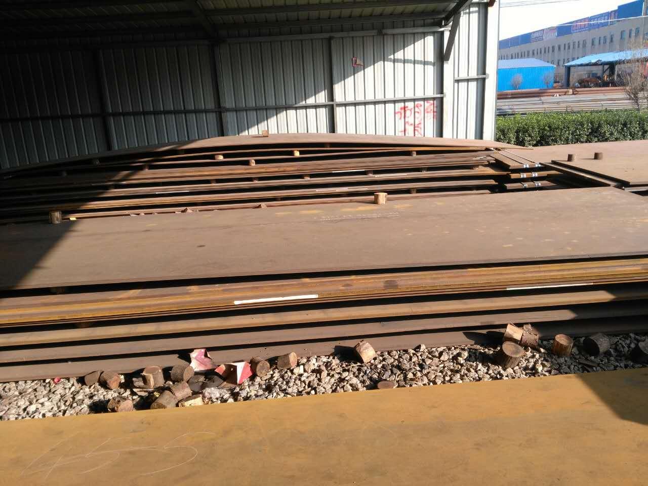 池州宝钢耐磨钢板NM500现货库存