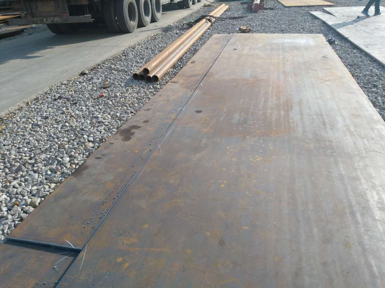 惠州新钢耐磨钢板NM400厂家现货