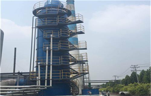 铁岭市烟气净化设备碳钢脱硫塔300吨粮食烘干塔脱硫塔