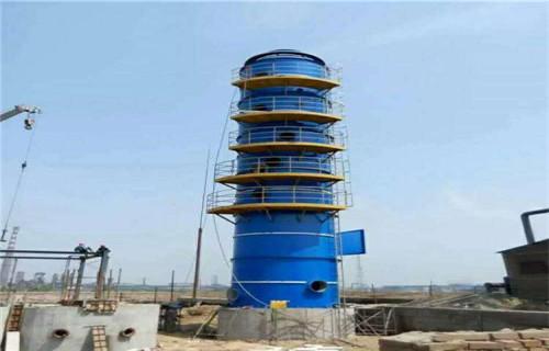 铁岭市烟气净化设备玻璃钢脱硫塔24000m3/h烟气脱硫塔