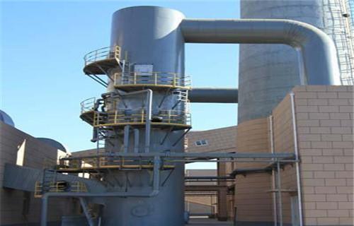 吉林省双阳锅炉脱硫塔车间除尘器光氧净化设备