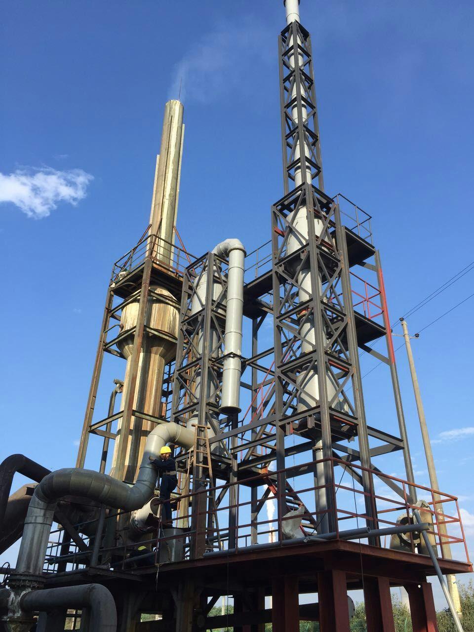 葫芦岛市烘干塔烟气脱硫塔scr脱硝设备12000m3/h烟气脱硫塔