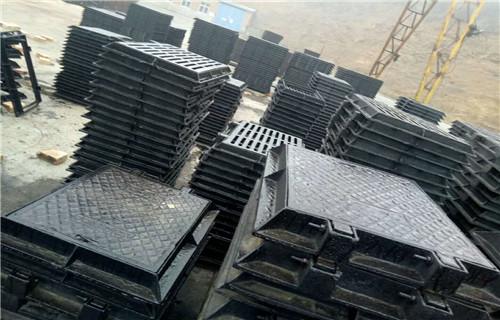 廊坊球墨铸铁井盖生产标准C250轻型井盖