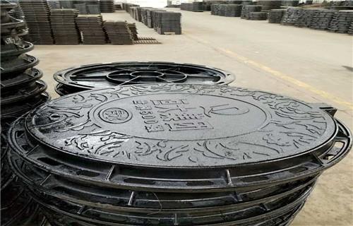 黑龙江球墨铸铁井盖生产标准C250轻型井盖