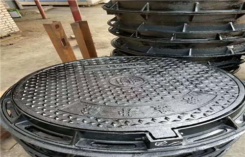 黑龙江球墨铸铁井盖生产标准D400重型井盖