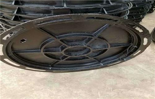 安庆球墨铸铁井盖生产标准D400重型井盖
