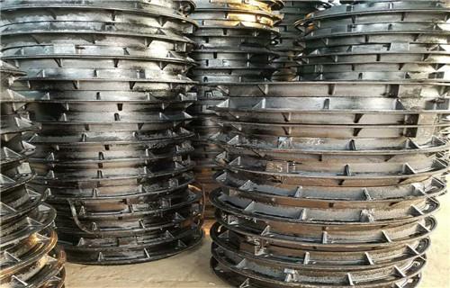 江西球墨铸铁井盖生产标准D400重型井盖