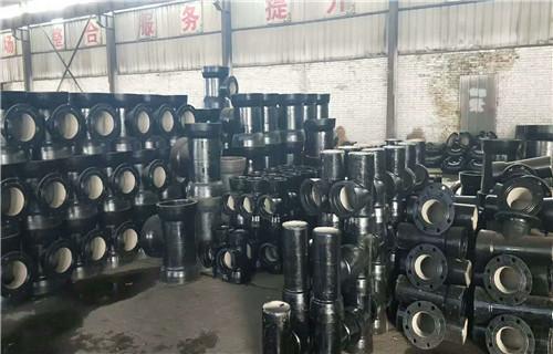 湖南双盘短管400*600球墨铸铁管件厂