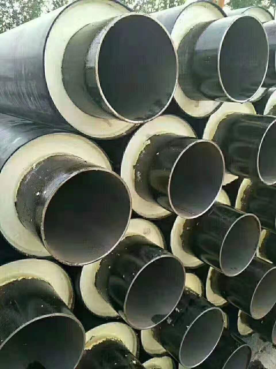 马鞍山DN350聚氨酯钢套钢蒸汽保温管补扣方法