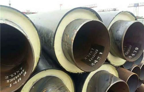 辽宁室外架空白铁皮热水保温管每米价格
