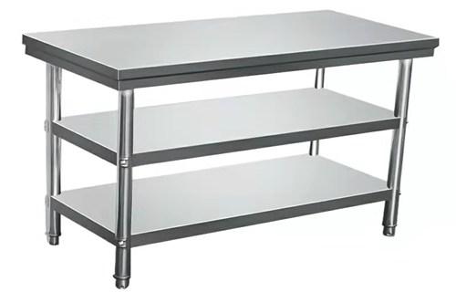 平顶山厂家承接定制厨房商用多功能推拉工作台