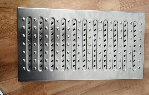 平顶山盖板厂家承接定做饭店厨房不锈钢沟盖板