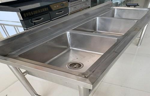 驻马店工厂店承接定制饭店不锈钢水池