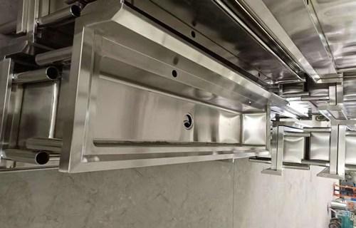 驻马店工厂店异形加工酒店厨房不锈钢洗手池