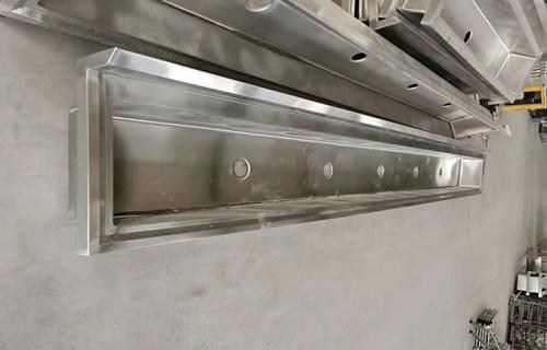 鹤壁源头厂家承接异形定制不锈钢消毒池